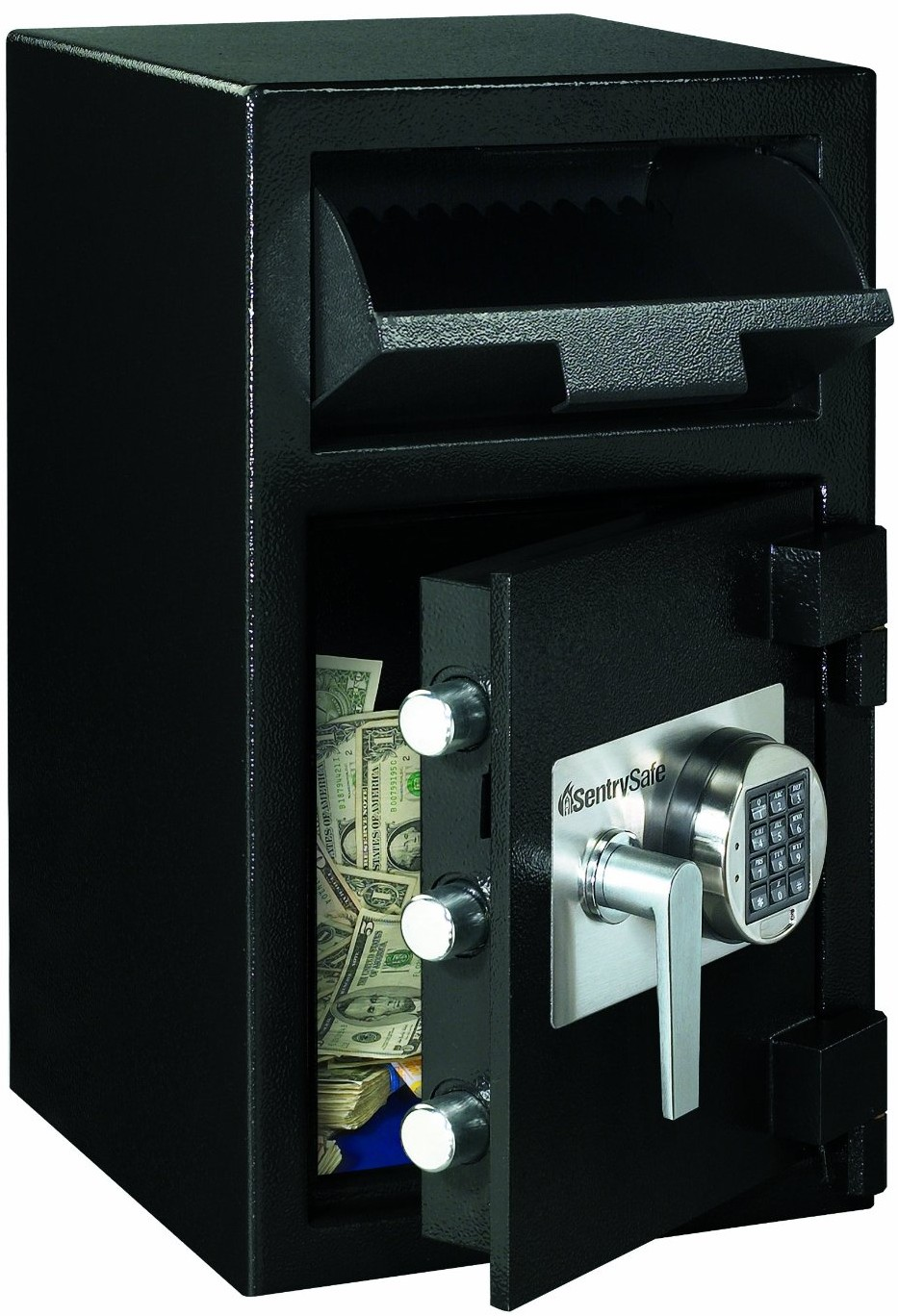 how to open a sentry safe with digital keypad