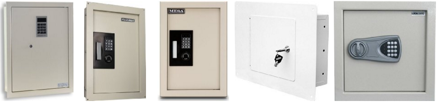 Your everyday wall safes